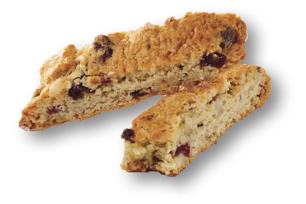 Walnut Cranberry biscotti