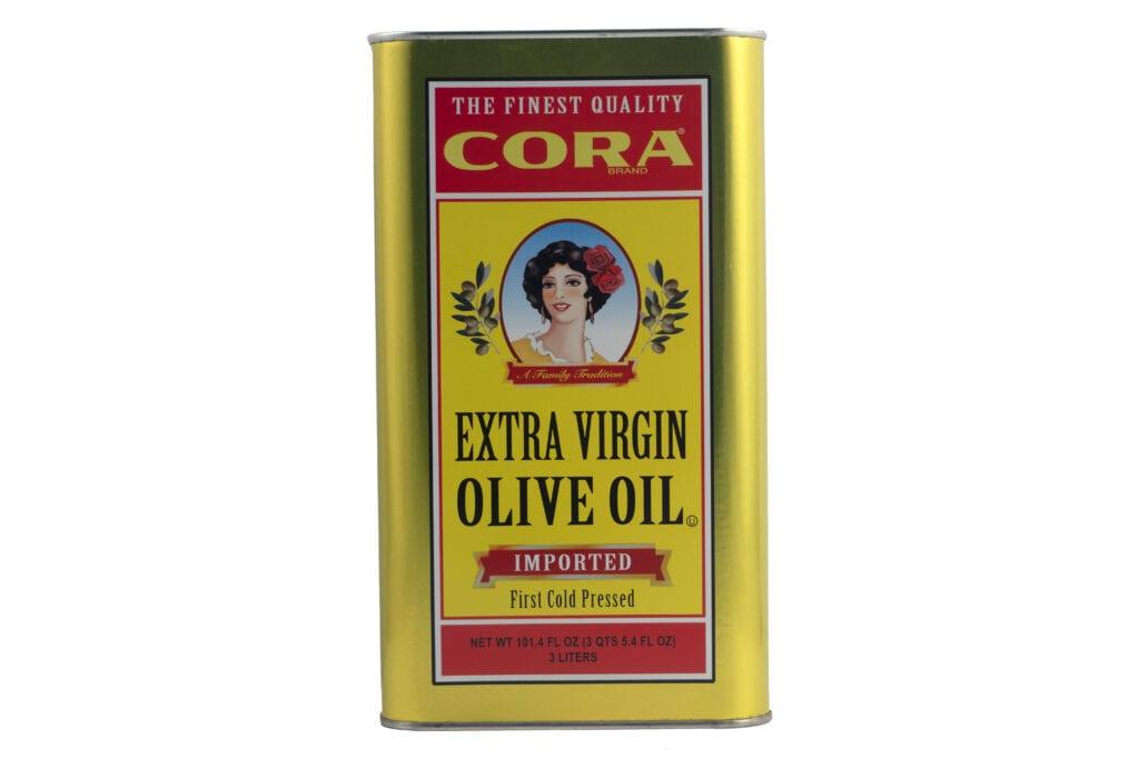 Olive Oil tin