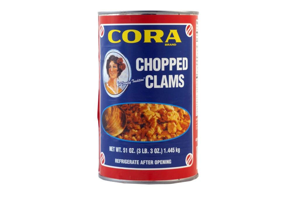 Clams chopped