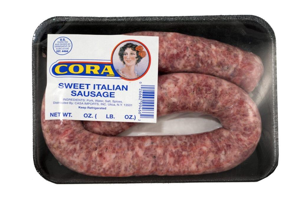 Sausage sweet rope