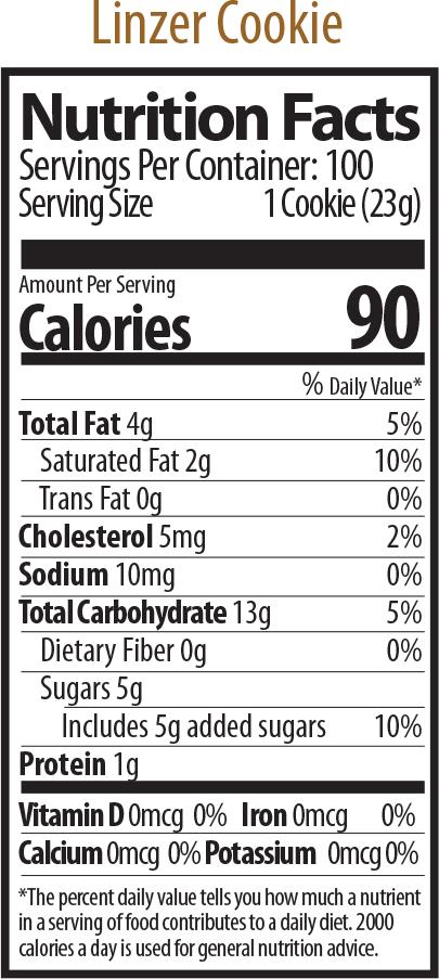 linzer nutrition