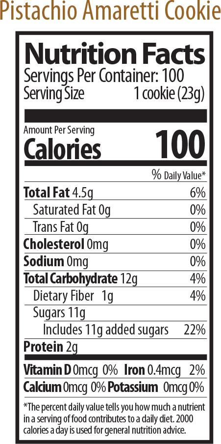 pistachio nutrition