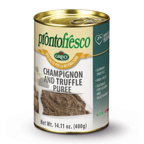 mushroom truffle puree
