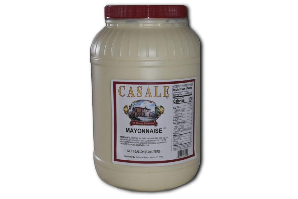 Mayonnaise gallon