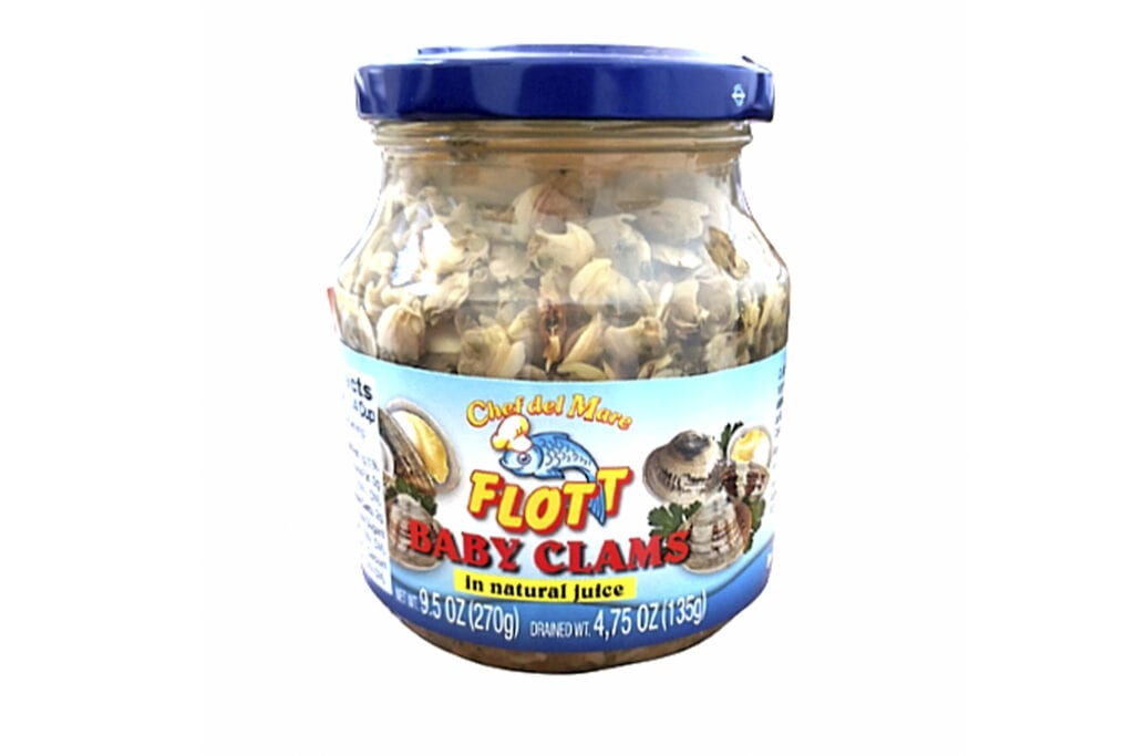 clam baby water