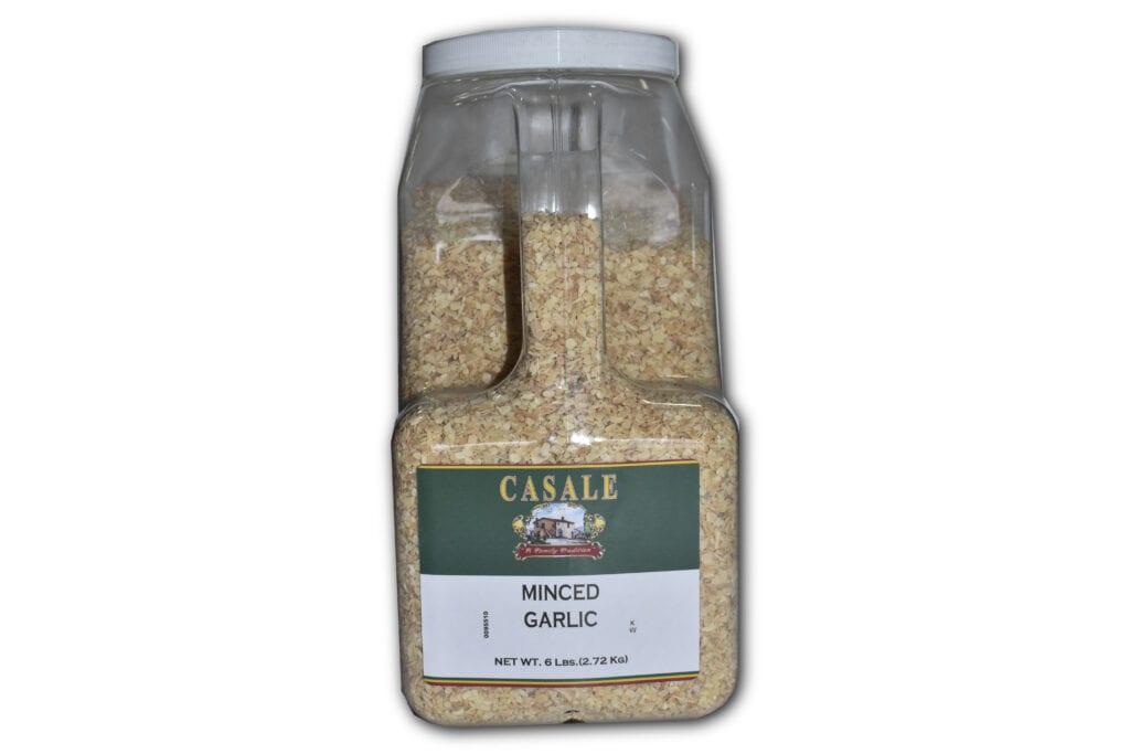 minced garlic dry