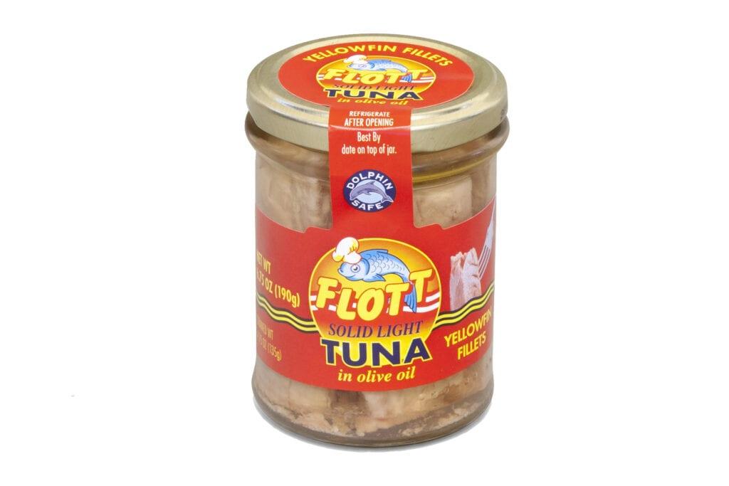 Tuna in jar