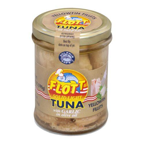 Tuna with garlic